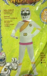 Power Ranger White Pink Wild Force Costume 7 10 NIP