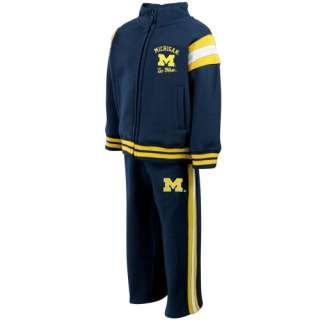 Michigan Wolverine Hoody Sweatshirt  Michigan Wolverines Toddler Navy