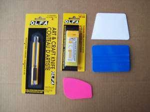Tinting + Tool Kit Car Auto Window Squeegee Card Tint