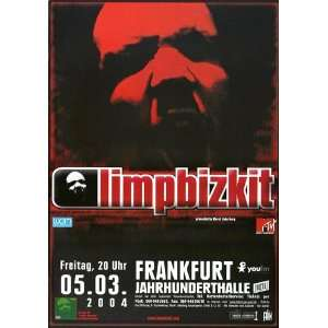 Limp Bizkit   Results May Vary 2004   CONCERT   POSTER