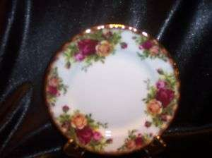 ROYAL ALBERT CHINA OLD COUNTRY ROSES TEA PLATE ENGLAND