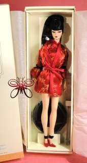 NRFB Silkstone Red Moon Asian Barbie Doll Fashion Model