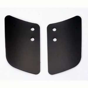 Memphis Shades MEP5811 Custom Lowers Plastic Gradient Black For Harley