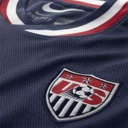 Nike United States USA Official 2012 Away Soccer Jersey Brand New Navy