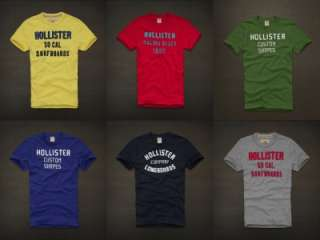 HOLLISTER MENS 2011 T SHIRTS ALL SIZES NWT