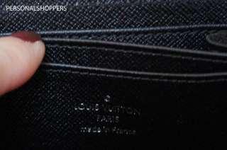 FAB LOUIS VUITTON LV SMALL BLACK EPI ZIPPY WALLET/COIN PURSE FOR YOUR