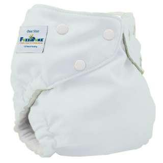 ONE SIZE ELITE Fuzzibunz Fuzzi Bunz OS Cloth Pocket Diaper & 2 Minky