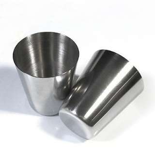 Brand New 35ml Quality Stainless Steel Hip Flask Cup