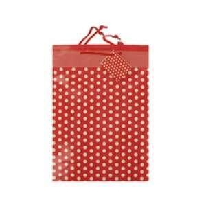 Red Polka Dot Gift Bag Case Pack 48   697267