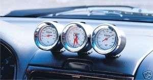 Racing Car Led THERMOMETER&HYGROMETER CLOCK Gauge Meter