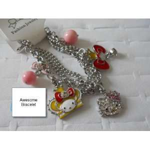 Hello Kitty Pendant Bracelet For Kids and Adults