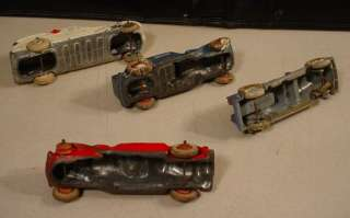 LOT 4 EARLY BARCLAY / MANOIL TOOTSIE TOY CARS & TRUCKS MUST SEE