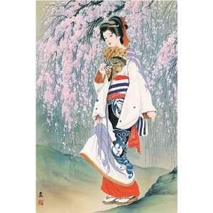 [1000 pieces] Riot of Sakura Cherry Blossoms Jigsaw Puzzle
