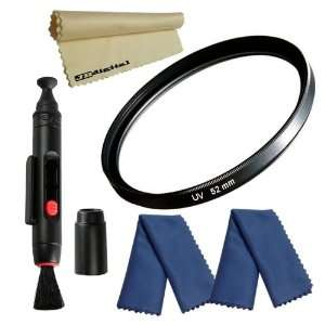 Lens Cleaning Pen + 2 Super JB MicroFiber Cleaning Cloths for Canon