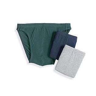 Rib Bikini (3 Pack)  Covington Clothing Mens Underwear & Socks