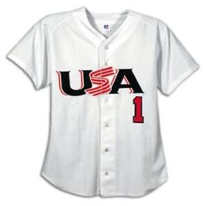 Baseball USA Baseball Mens Official Game Jersey  Sports