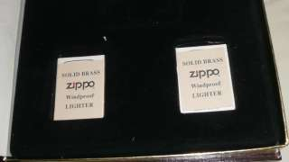Volume I World War II A Remembrance Zippo Lighter Set Empty Box Only