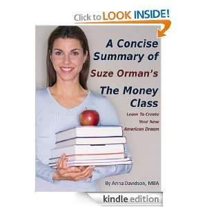 Concise Summary of Suze Ormans The Money Class (The Best Summaries