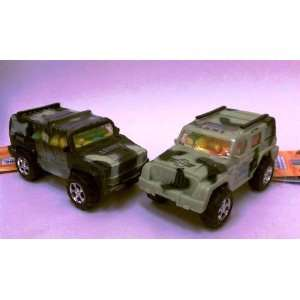 Military Hummer Jeep toy candy 12 pack  Grocery & Gourmet