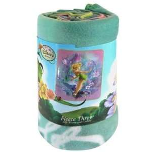 Disney Fairies Tinker Bell Wishes Fleece Blanket Throw