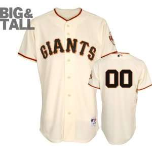 San Francisco Giants Jersey Any Number Big & Tall Home Ivory