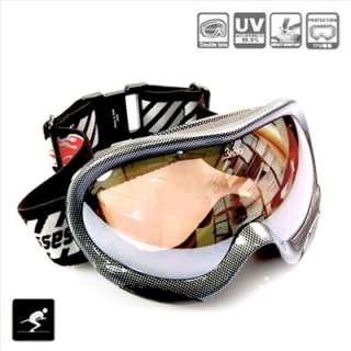 GARY BASTO Anti Fog Dual Lens UV SKI SNOWBOARD GOGGLES SKIING glasses