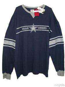 Dallas COWBOYS NFL THROWBACK Mitchell & Ness SHIRT XL NWT