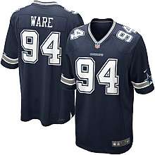 Youth Nike Dallas Cowboys DeMarcus Ware Game Team Color Jersey (8 20