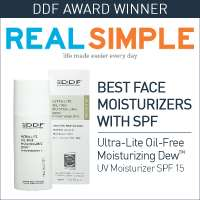 moisturizing serum with DDF dual phase technology for instant and