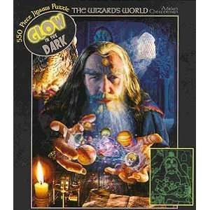 Glow in the Dark The Wizards World Jigsaw Puzzle 550pc Toys & Games