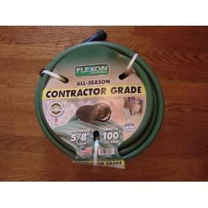 Flexon All Season Contractor Grade Garden Hose   5/8