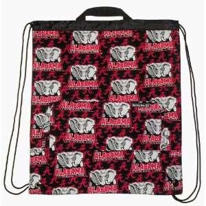 UA University of Alabama Crimson Tide Cinch Backpack by