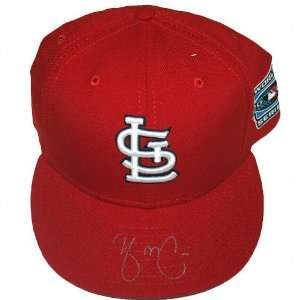 Yadier Molina St. Louis Cardinals Autographed World Series