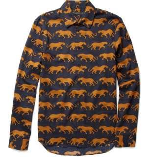 Clothing  Casual shirts  Casual shirts  Panther Print Shirt
