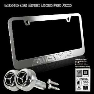 AMG Stamped High Quality Chrome Plating Cast Zinc License