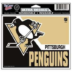 NHL Pittsburgh Penguins Window Cling