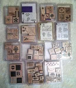 Stampin Up Rubber Stamp Sets*** U Pick $10 ea.***
