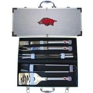 BSS   Arkansas Razorbacks NCAA 8pc BBQ Tools Set