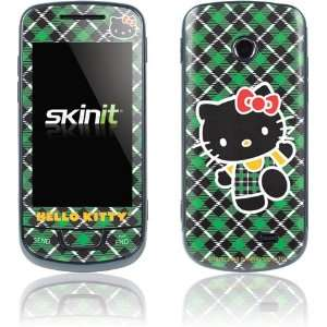 Hello Kitty Green Plaid skin for Samsung T528G