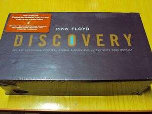 PINK FLOYD THE DISCOVERY STUDIO ALBUM 16 CD + BOOKLET NEW BOX SET