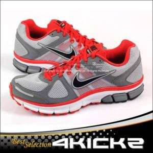 Air Pegasus+ 28 Wolf Grey / Challenge Red Running 443805 006