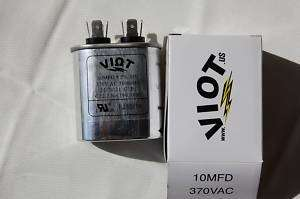 Compressor AC/Furnace Blower Motor Start Run Capacitor Replace 10uFD