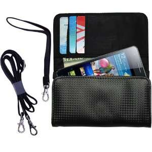 Black Purse Hand Bag Case for the Samsung i9100 with both