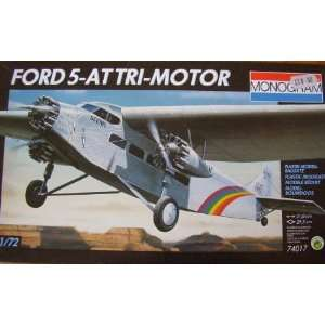 Monogram 1/77 scale Ford 5 AT Tri Motor Toys & Games