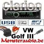 Clarion  USB iPod iPhone 3G Autoradio VW Golf III 3