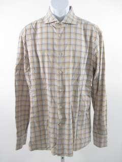 DANIEL CREMIEUX Mens Houndstooth Dress Shirt Sz XL