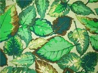 New Green Leaves Fabric BTY Tree Woods