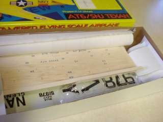 STERLING MODELS AT6/SNJ TEXAN FF MODEL AIRPLANE KIT **