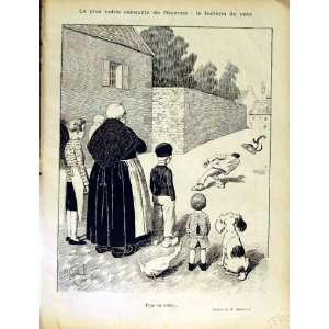 LE RIRE FRENCH HUMOR MAGAZINE FAMILY MAN STREET GOOSE: