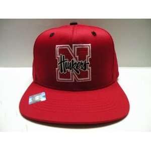 NCAA University of Nebraska Huskers Red Retro Snapback Cap